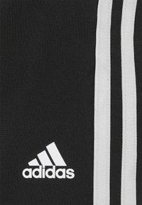 adidas Performance - Sports shorts - black/white - 6