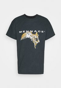 Mennace - FALLEN REGULAR - T-shirt con stampa - black - 4
