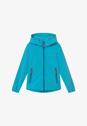 KAPPELN - Soft shell jacket - turquoise