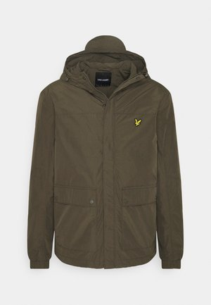 HOODED POCKET JACKET - Summer jacket - trek green