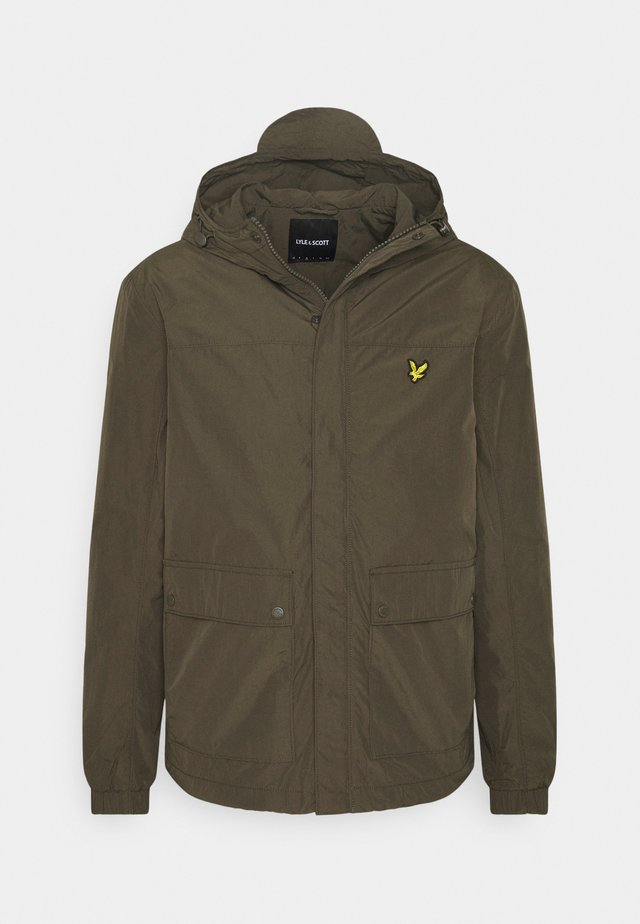 HOODED POCKET JACKET - Veste légère - trek green