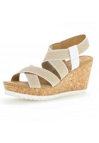 Gabor - Wedge sandals - weiãÿ - 1