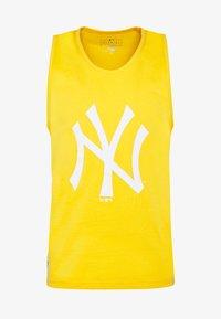 New Era - MLB SEASONAL TEAM LOGO TANK NEW YORK YANKEES - Toppi - yellow - 5