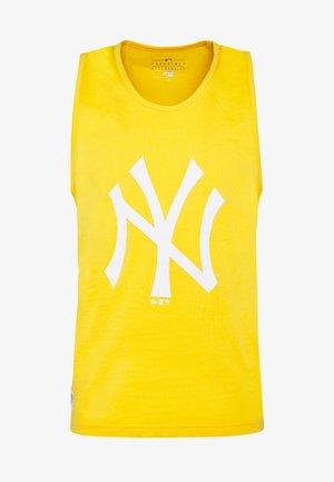 MLB SEASONAL TEAM LOGO TANK NEW YORK YANKEES - Top - yellow