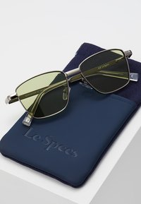 Le Specs - SUPASTAR - Solbriller - brushed silver-coloured - 2