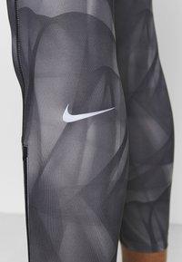 Nike Performance - RUN 7/8 - Tights - black/silver - 5
