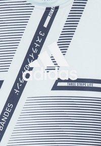 adidas Performance - TEE - Camiseta de deporte - skytin/legink/white - 3