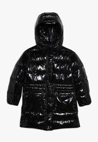 Pinko Up - NEGOZIANTE GLOSSY - Winter coat - black - 0