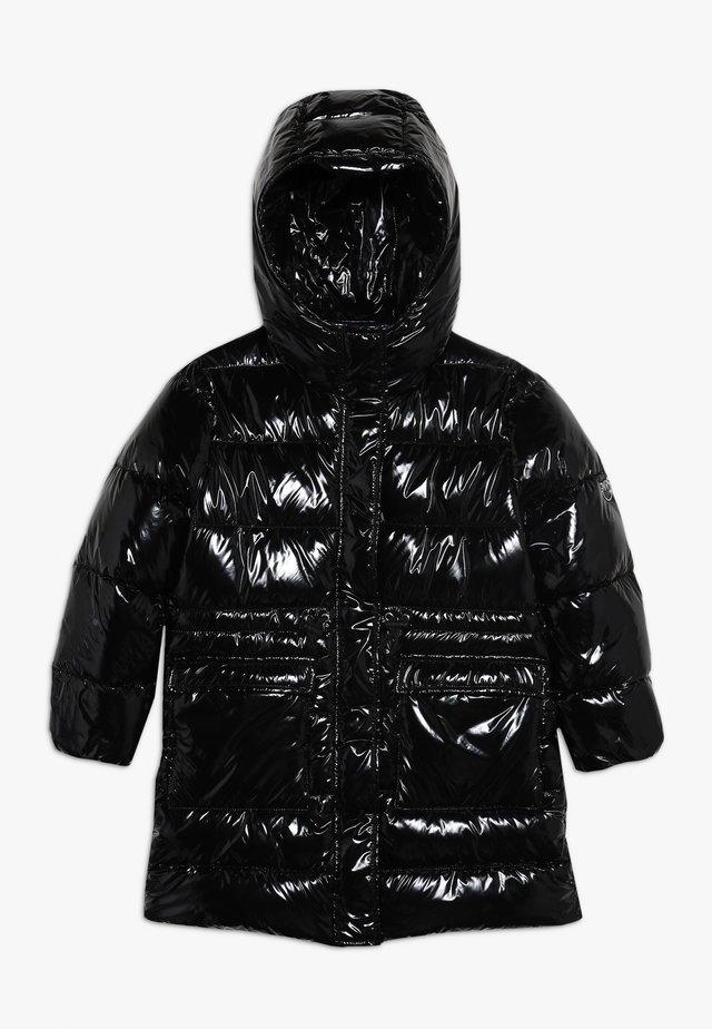 NEGOZIANTE GLOSSY - Cappotto invernale - black