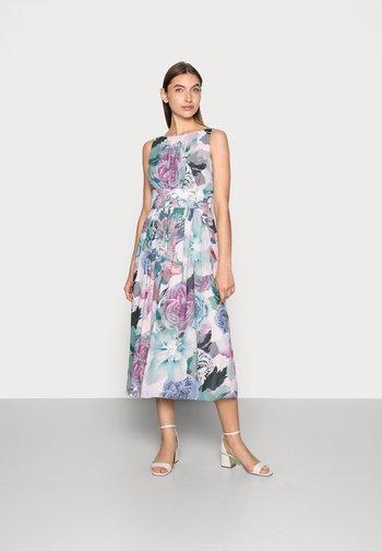 Blumendruck - Cocktail dress / Party dress - pale lipstick / multi