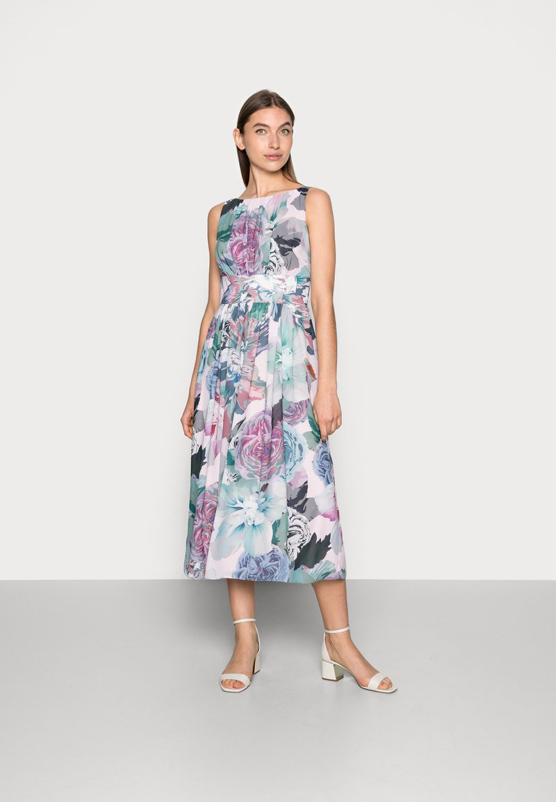 Swing - Blumendruck - Cocktail dress / Party dress - pale lipstick / multi