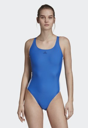 ATHLY V 3-STRIPES SWIMSUIT - Swimsuit - blue