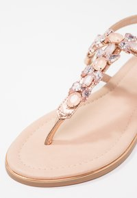 Anna Field - T-bar sandals - rose gold - 6