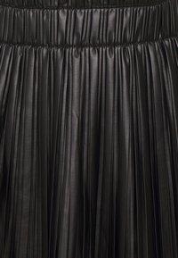 ONLY - ONLMIE PLEAT SKIRT - Mini skirt - black - 2