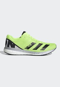adidas Performance - ADIZERO BOSTON 8 SHOES - Competition running shoes - green - 6