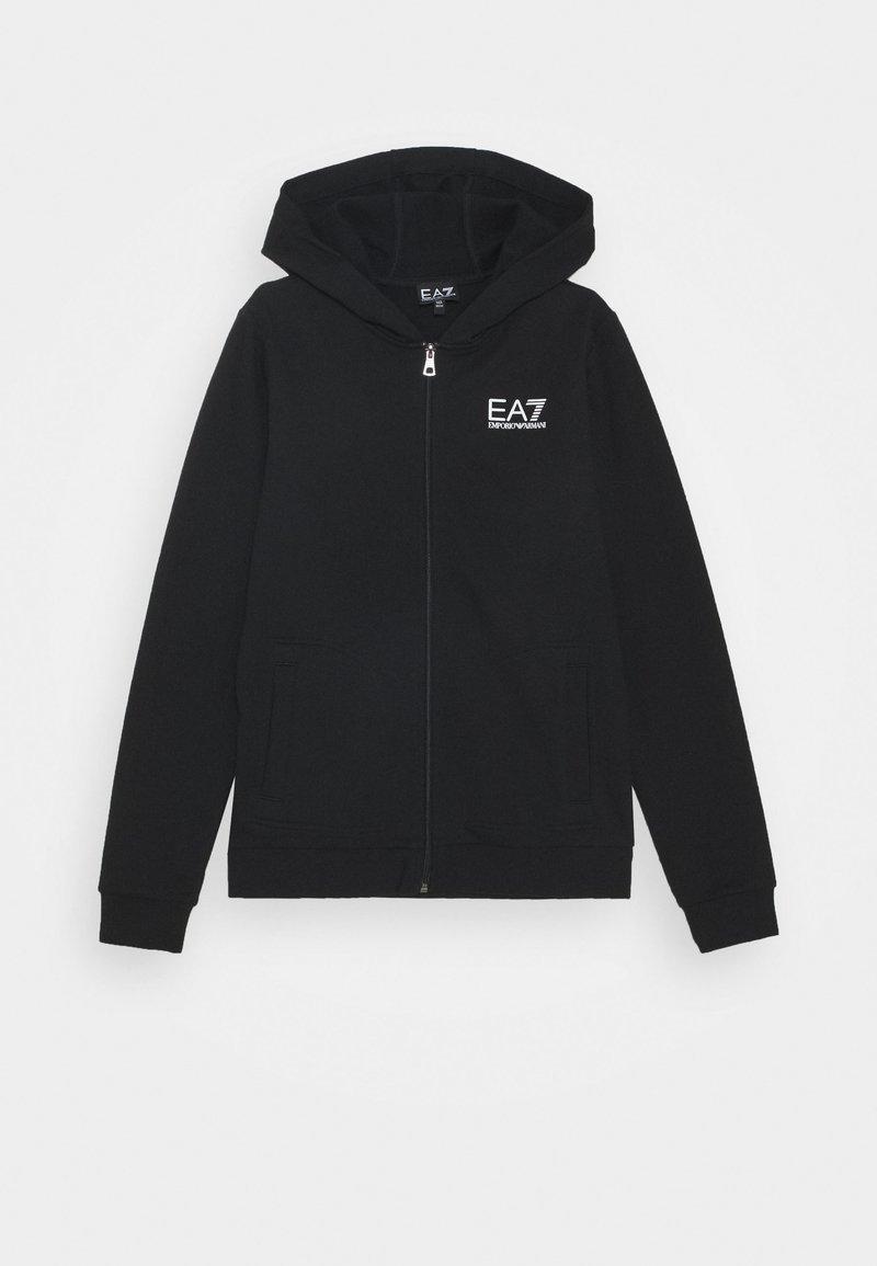 Emporio Armani - EA7 FELPA - Zip-up hoodie - black
