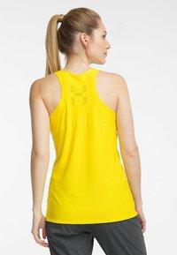 Haglöfs - L.I.M TECH TANK - Sports shirt - signal yellow - 1