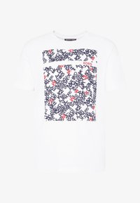 Michael Kors - SCATTERED LOGO TEE - T-shirt con stampa - white - 4