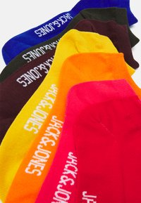 Jack & Jones - JACBASIC SHORT SOCK 7 PACK - Socks - surf the web/diva pink/persimmon - 1