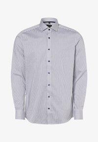 OLYMP - Shirt - weiß marine - 0
