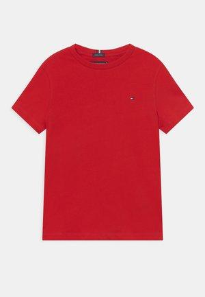 ESSENTIAL TEE  - T-shirt basic - deep crimson