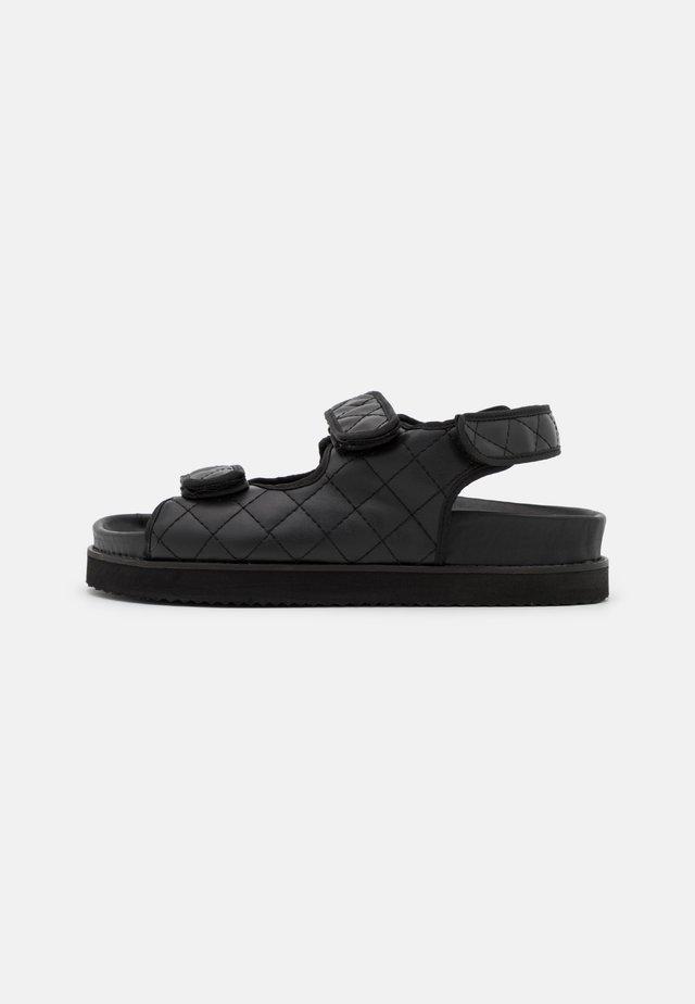 LILA - Sandals - black