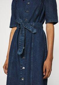 ONLY - ONLCLARITY LIFE PUFF - Vestito di jeans - dark blue denim - 7