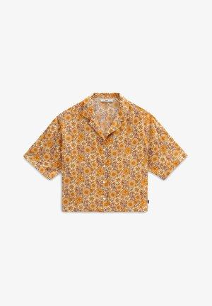 Button-down blouse - trippy floral