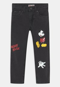 Levi's® - MICKEY MOUSE 511 SLIM UNISEX - Jeans slim fit - washed black - 0