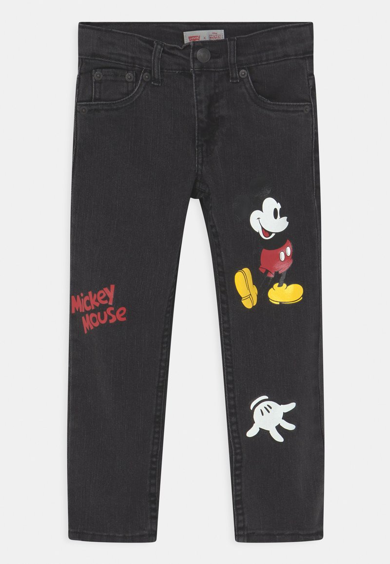 Levi's® - MICKEY MOUSE 511 SLIM UNISEX - Jeans slim fit - washed black