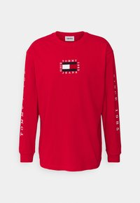 Tommy Jeans - Long sleeved top - deep crimson - 6