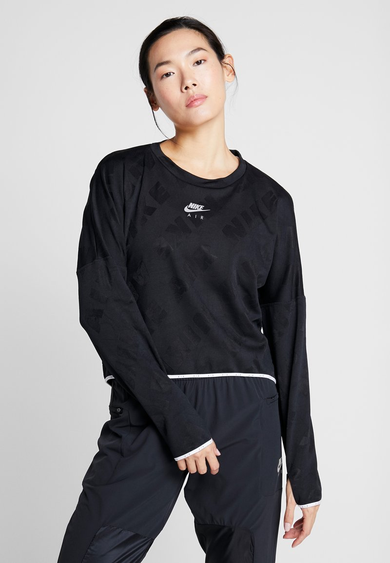 Nike Performance - AIR MIDLAYER - Treningsskjorter - black