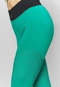 Nike Performance - AEROADAPT - Legging - neptune green/black/metallic silver - 3