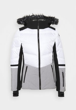 ELECTRA - Chaqueta de esquí - optic white