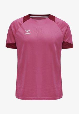 LEAD - Print T-shirt - raspberry sorbet