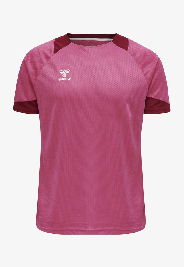 LEAD - T-shirt print - raspberry sorbet