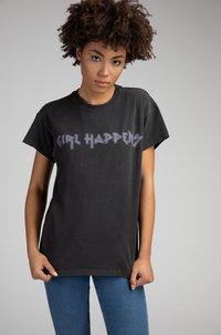 Girl Happens - Print T-shirt - schwarz - 0