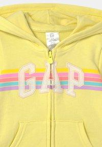 GAP - GIRL LOGO - Zip-up hoodie - lime juice - 2