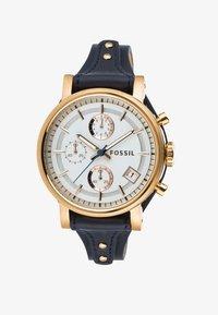 Fossil - ORIGINAL BOYFRIEND - Chronograph watch - blau - 2