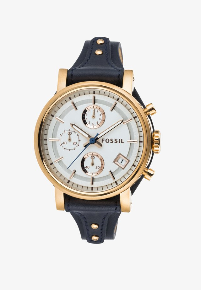 ORIGINAL BOYFRIEND - Chronograph watch - blau