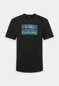 Carhartt WIP - GREAT OUTDOORS - Printtipaita - black - 0