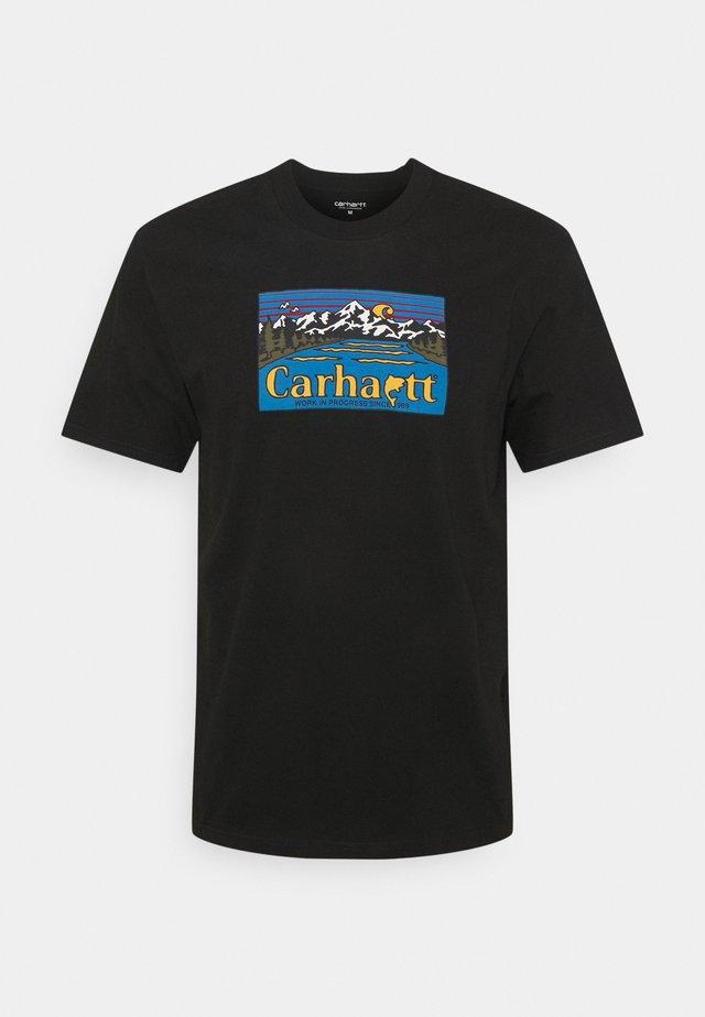GREAT OUTDOORS - T-shirt print - black
