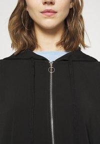 Vero Moda - VMCOCO HOODIE - Summer jacket - black - 4