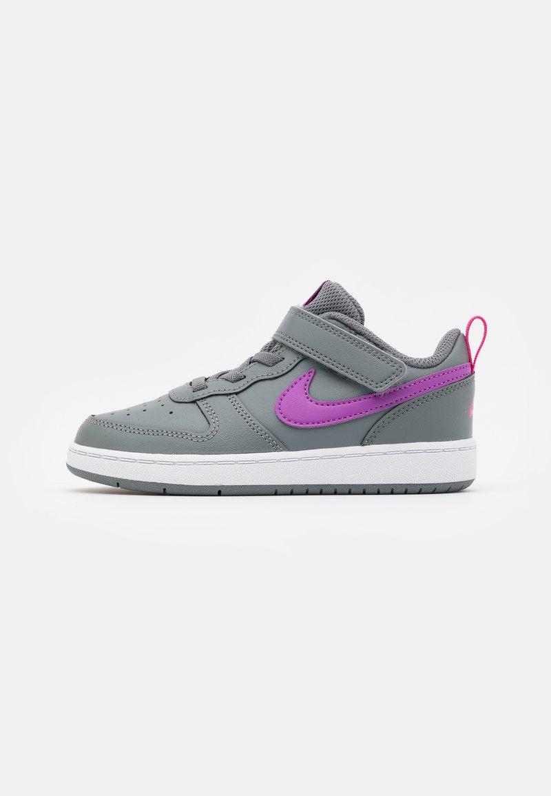 Nike Sportswear - COURT BOROUGH 2 - Trainers - smoke grey/purple/watermelon/white