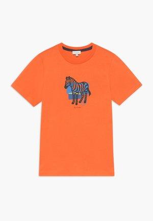 AMOLO - Triko spotiskem - orange