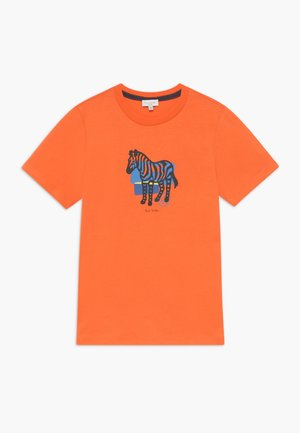 AMOLO - Print T-shirt - orange