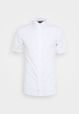 DRESSED SUPER SLIM SHIRT S\S - Shirt - white