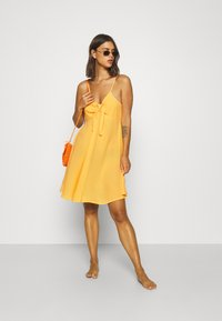 s.Oliver - DRESS - Beach accessory - vanille - 1