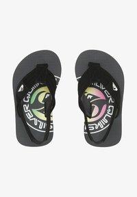 Quiksilver - MOLOKAI LAYBACK  - Pool shoes - grey/green/grey - 0