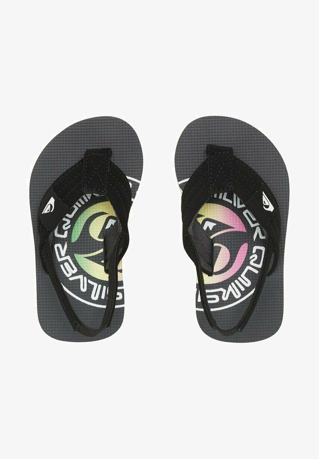 MOLOKAI LAYBACK  - Pool shoes - grey/green/grey